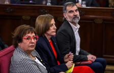 Forcadell anima a los catalanes a ejercer esta Diada sus derechos democráticos «libre y pacíficamente»