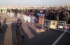 Cortes en las carreteras tarraconenses por la huelga del 21-F