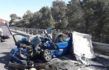 El conductor muerto en un accidente en la Bisbal tenía 66 años y era vecino del Vendrell