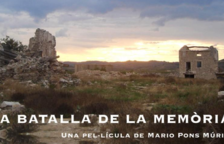 Projecció de 'La batalla de la memòria' al Centre Cultural el Castell de Reus