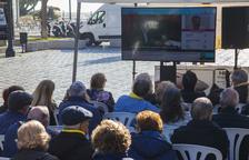 Òmnium instal·larà una pantalla gegant a la Rambla Nova per veure la declaració dels presos
