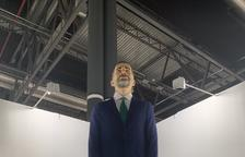 Presentan en Arco un 'ninot' de Felipe VI que el comprador tiene que quemar antes de un año