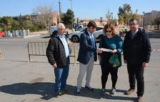 Instalan un nuevo paso de peatones regulado con semáforo en Torreforta