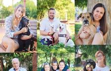 Campaña de civismo en Riudoms con la participación de una decena de vecinos y sus perros