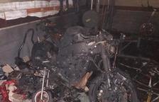 Un patinet elèctric incendia un garatge a Vila-seca