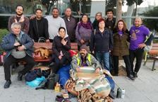 El ocupa Jorge Fernández deja la huelga de inanición seis días después por problemas de salud