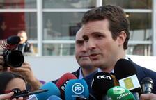 Casado pide a los electores que voten «unidos» y «con cabeza» y desea que el resultado permita formar «un gobierno estable»