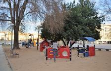 El Parc de la Riera de Vila-seca estrena nous jocs infantils