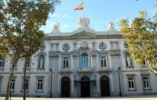 Imatge general de la façana principal del Tribunal Suprem.