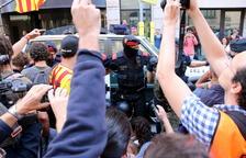 Un guàrdia civil relata un «terror total» amb manifestants amb «ràbia descontrolada» a l'escorcoll a Exteriors el 20-S