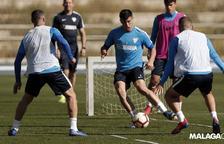 Els partits de seleccions minven el potencial del Málaga, rival del Nàstic