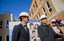Messer finança la instal·lació de gasos medicinals a  La Muntanyeta
