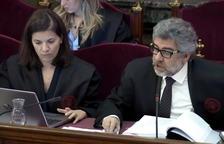 Pina lamenta que la fiscalia vol «escarmentar de manera especial» els líders socials i nega cap «concert» amb el Govern