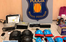 Detingut dos cops en un cap de setmana per robar a l'interior de sis vehicles a Tarragona