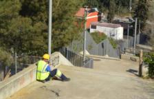 Roben 500 metres de cable elèctric de la Vall de l'Arrabassada