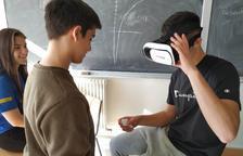 Els alumnes de l'Institut El Morell treballen el concepte de mirada científica