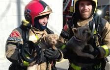 Evacuen els veïns d'un edifici del Morell per un incendi en un àtic