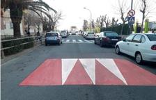 S'instal·laran vuit nous reductors de velocitat a Tarragona