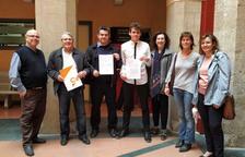 Cs denuncia l'Ajuntament de Tortosa per no haver retirat la pancarta dels presos