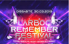 Cartel del l'Arboç Remember Festival.