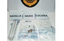 Detinguda a Amposta una parella per tràfic de drogues