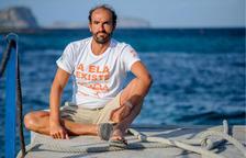 El nedador Jaime Caballero es mulla per l'ELA