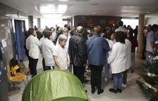 Noves protestes laborals a l'Hospital de Móra per l'impagament d'una paga variable
