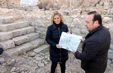 Troben restes de l'espai públic de la Tortosa romana i la façana fluvial del Renaixement