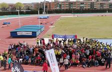 Nou escoles d'educació especial han participat en la Trobada Esportiva.