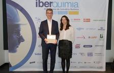 Carles Navarro recibe el premio 'CEO químico digital' del año