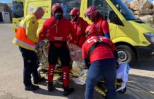 La Cruz Roja rescata a un bañista con síntomas de hipotermia en la Móra