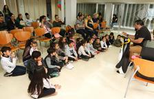 El acto se celebró ayer en el Centro Cívico Migjorn.