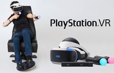 Más realidad virtual para la PS4: un mando para controlar con los pies y unas gafas graduadas