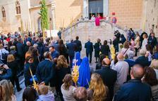 Tarragona celebra el Diumenge de Rams amb la Benedicció de palmes
