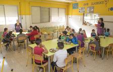 El servei de menjador escolar de Constantí es manté a l'estiu