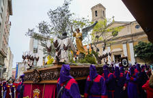 Recolliment en la Processó del Dolor a Tarragona