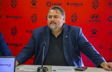 Clifton Onolfo en una rueda de prensa realizada el mes de febrero.