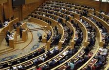 Imagen de una sesión del Senado español.
