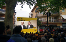 Cambrils acull el primer míting de Junqueras i Romeva des de la presó