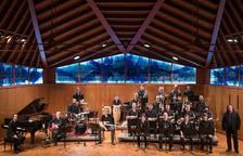 Imagen de la Big Band de la Escola Músics.