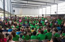 Gairebé 900 escolars participen a la Cantada de Sant Jordi de Vila-seca