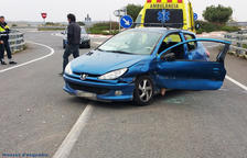 Detenido por provocar un accidente cuando conducía bebido en Vilallonga del Camp