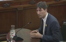 Un eurodiputat d'ERC admet algunes empentes i cops a Exteriors el 20-S tot i «l'actitud tranquil·la» de la majoria