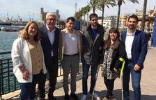 El PSC de Tarragona presenta oficialment el seu número 6, Mario Soler