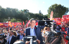 Sánchez fa una crida a la mobilització i al vot dels indecisos davant l'«amenaça» de la ultradreta