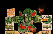 El espectáculo 'Una poma, un pomer' llenará el Convent de les Arts de música, dibujos y títeres