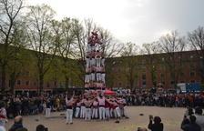 Els Xiquets de Tarragona realitzen els seus primers castells a Copenhaguen
