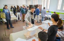 La participación se dispara hasta el 62,2% en Tarragona a las seis de la tarde, un 17,44% más que en el 2016