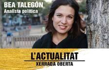 Se suspèn la xerrada de Bea Talegón al Vendrell