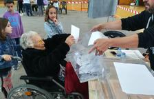La mujer más longeva de la demarcación cierra la lista que encabeza si nieta en Arboç